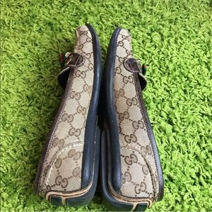 Gucci Shoes - ❤️Auth Gucci GG Supreme Canvas Drivers Loafers 💚